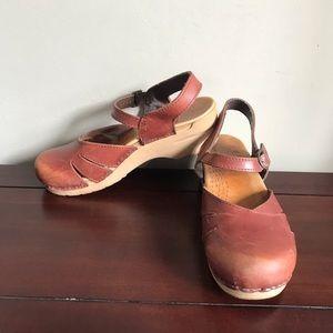 Dansko Mary Jane Clog Sandals